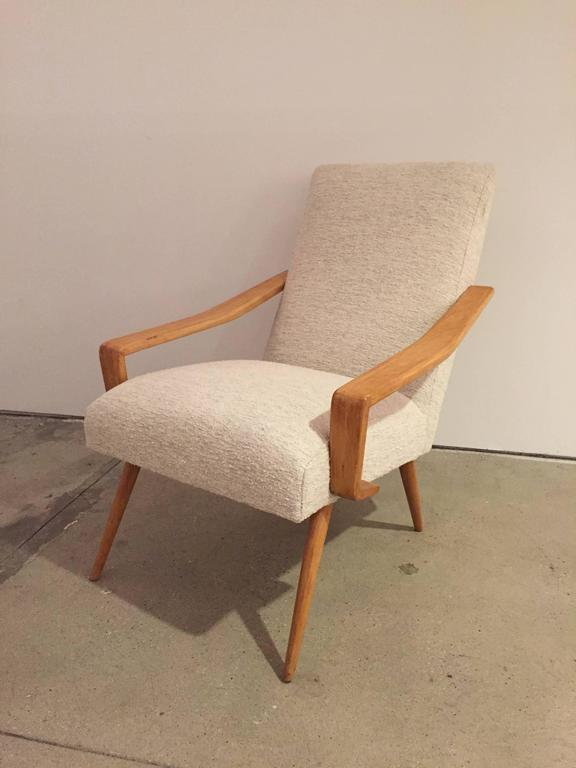 Pair of 1950 French Armchairs 2