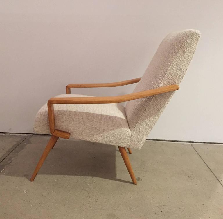 Pair of 1950 French Armchairs 5