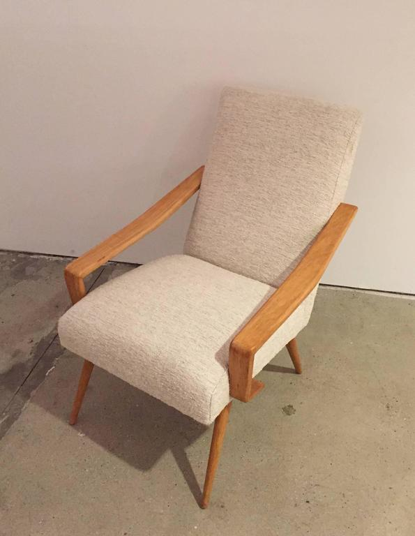 Pair of 1950 French Armchairs 6