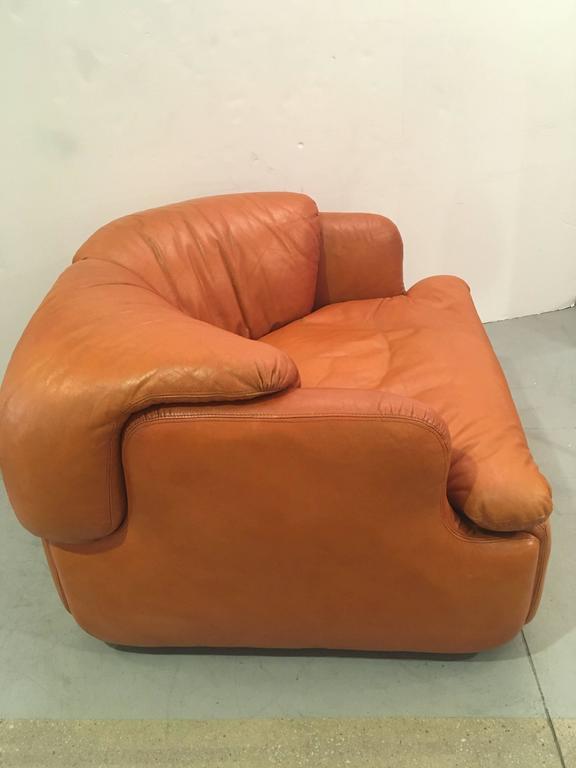 Mid-Century Modern Single Confidential Armchair For Sale