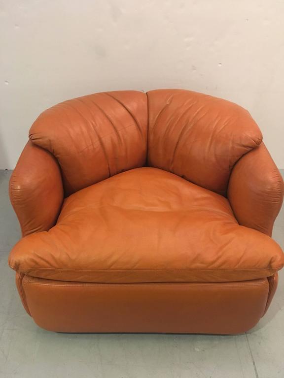 Italian Single Confidential Armchair For Sale