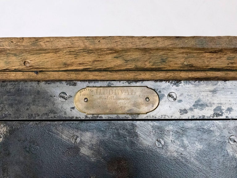 French Steel Safe by H. Dorval 9