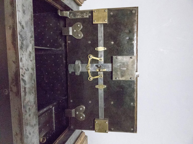 French Steel Safe by H. Dorval 10