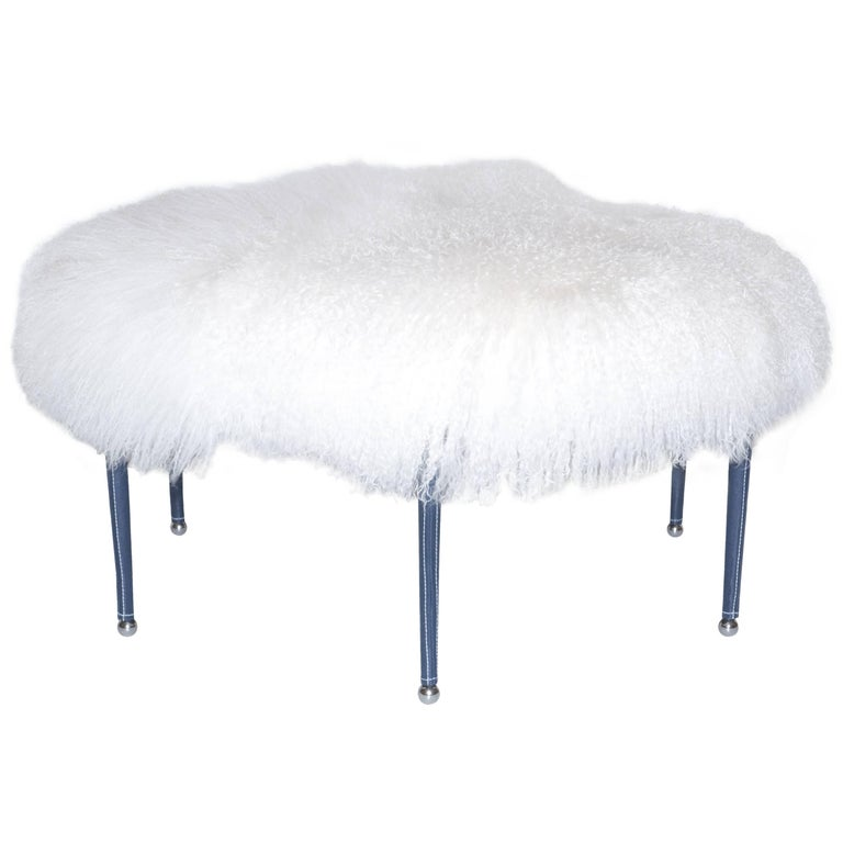 Drome Ottoman by Bourgeois Boheme Atelier For Sale