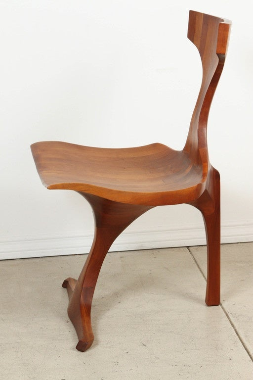 Jack Rogers Hopkins Sculptural Chair For Sale at 1stdibs