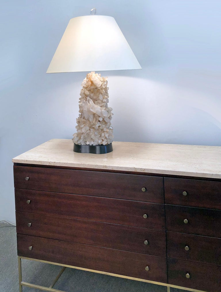 American Carole Stupell Quartz Crystal Lamp For Sale