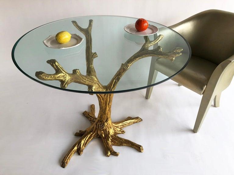 Cast Jacques Duval Brasseur Table For Sale