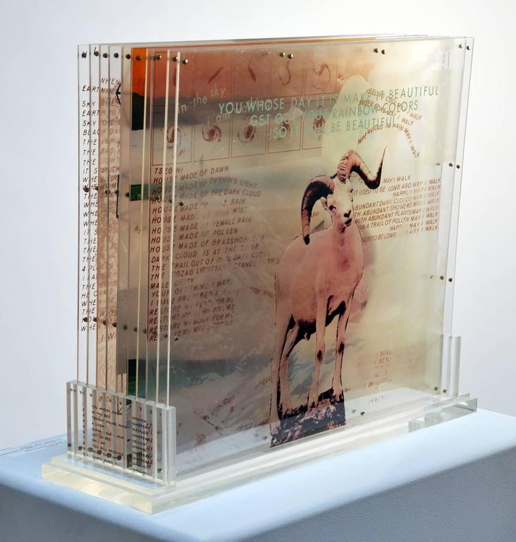 "Modern Robert Rauschenberg, ""Opal Gospel"" For Sale"