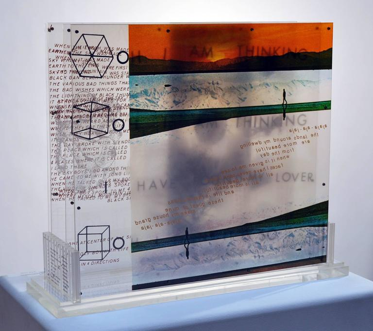 "Hand-Crafted Robert Rauschenberg, ""Opal Gospel"" For Sale"