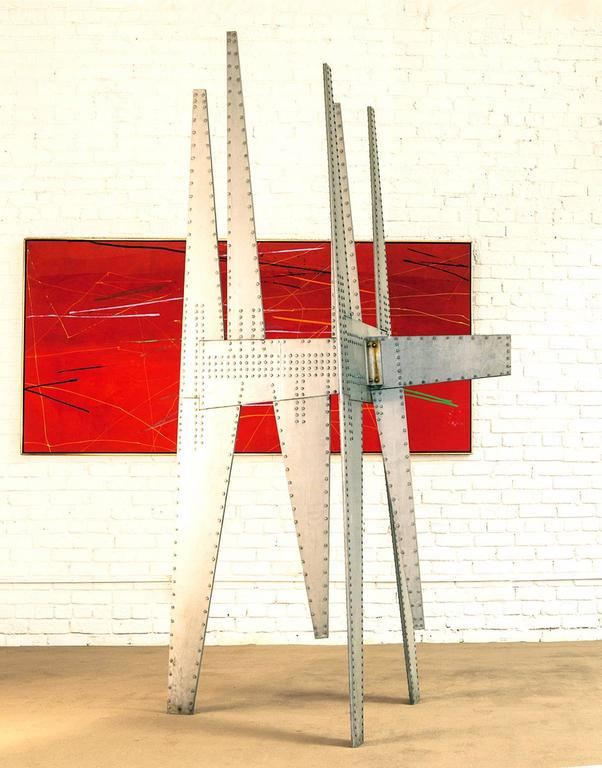 American Modernist Sculpture by Yasuhide Kobashi For Sale
