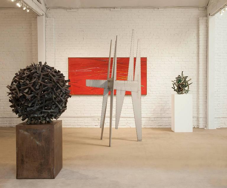 Hand-Crafted Modernist Sculpture by Yasuhide Kobashi For Sale