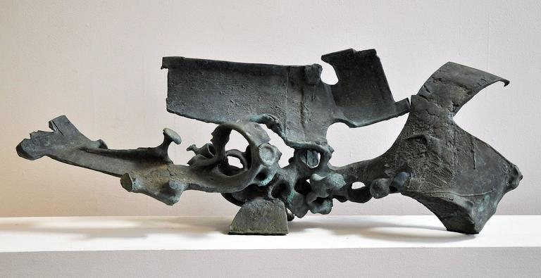 Holt Murray 1960s, Cast Bronze Sculpture, California 3