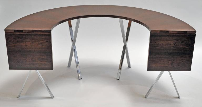Riis Antonsen Drop-Leaf Table, 1965 2
