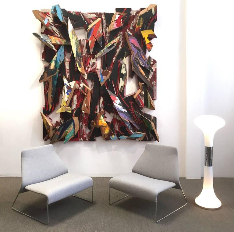 Important Charles Arnoldi Wood Construction - Signed and Dated 4