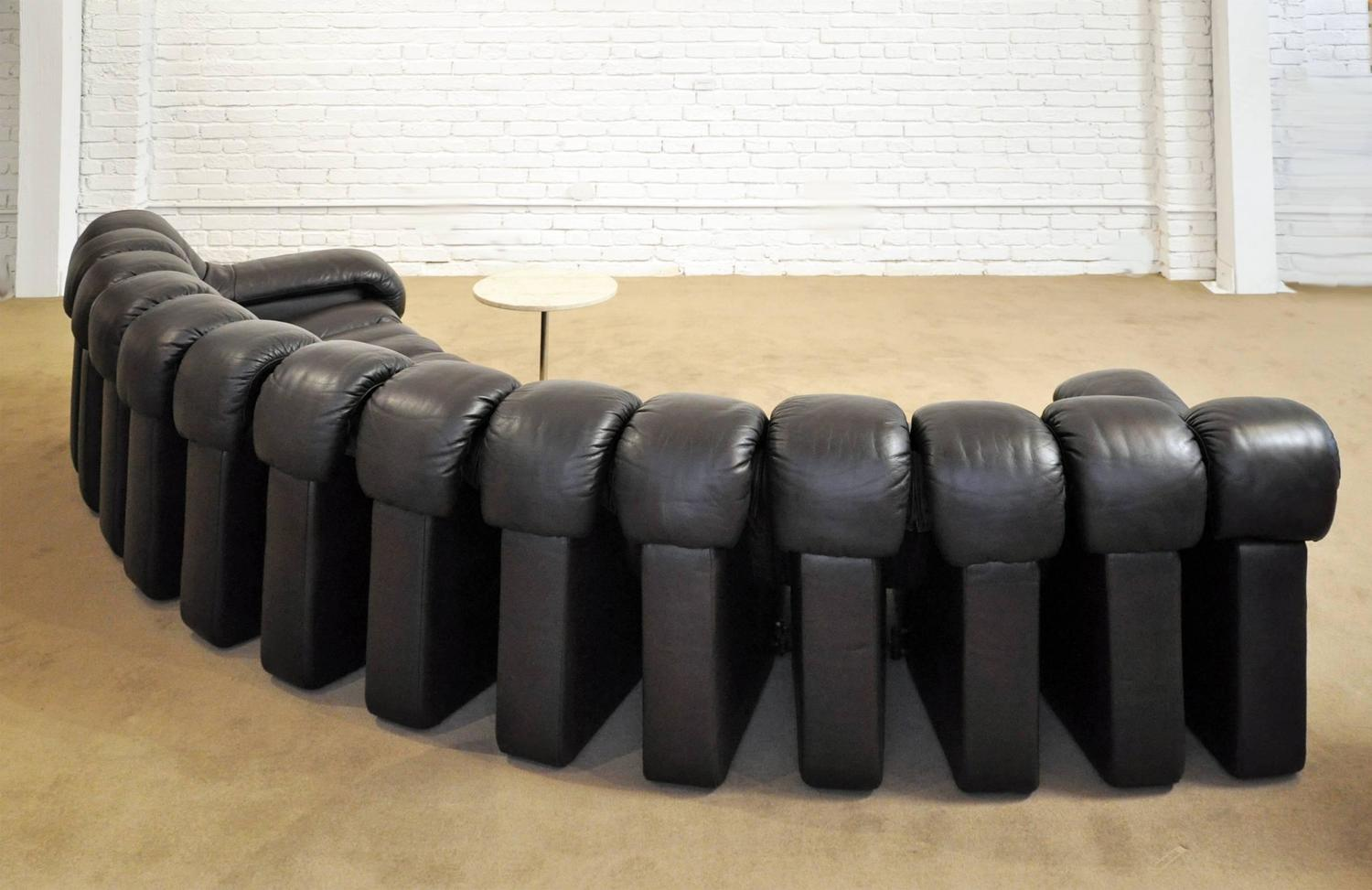 De Sede DS-600 Leather Sofa For Sale At 1stdibs