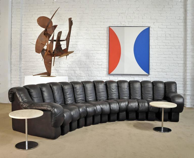 De Sede DS-600 Leather Sofa 3