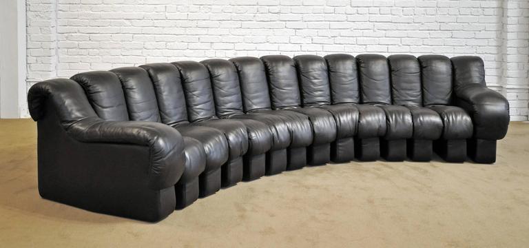 De Sede DS-600 Leather Sofa 5