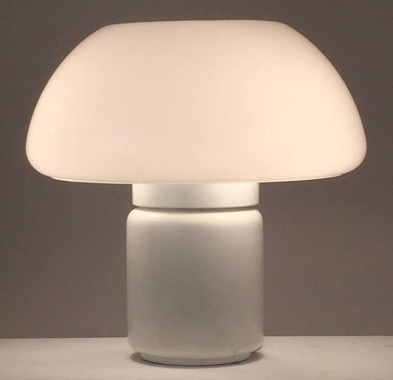 Elio Martinelli Mushroom Lamp, Martinelli Luc 1968, Italy 2