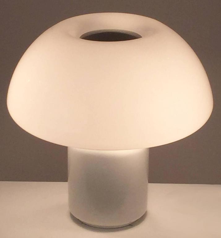 Elio Martinelli Mushroom Lamp, Martinelli Luc 1968, Italy 3