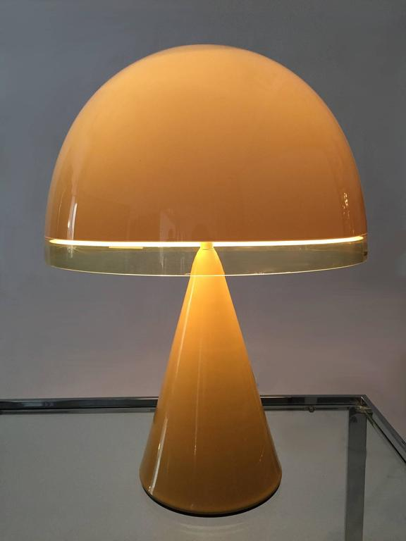 Harvey Guzzini  Lamp Italian Space Age 1970s,  3
