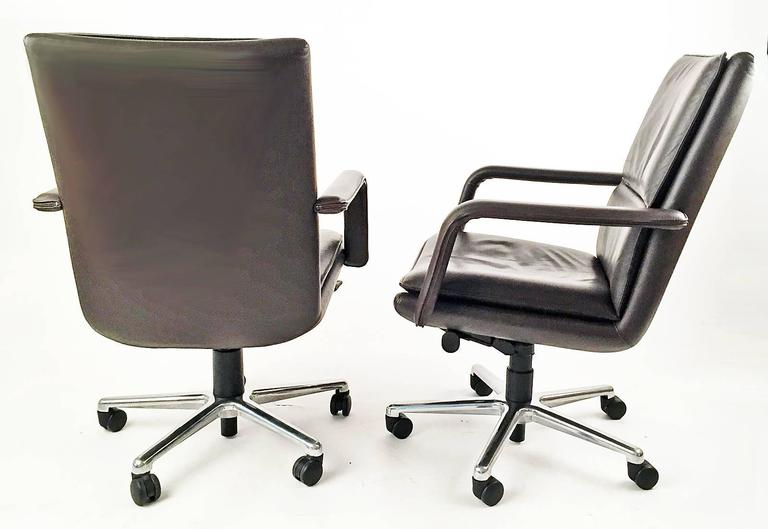Executive Chairs Pair by Elite 597  Keilhauer  5