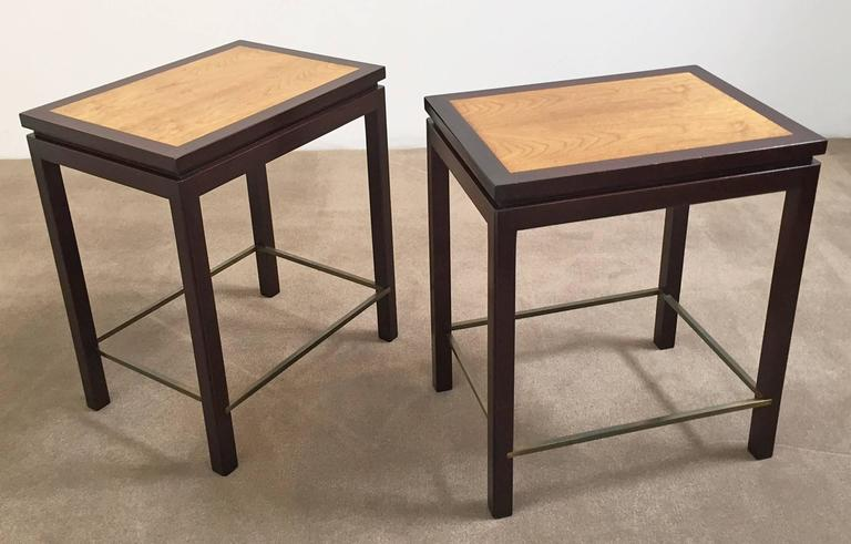 Pair of Tables by Edward Wormley for Dunbar Furniture 3