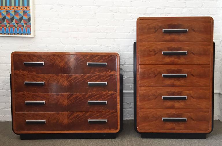 Donald Deskey, American Streamline 1930s Tall Dresser 3