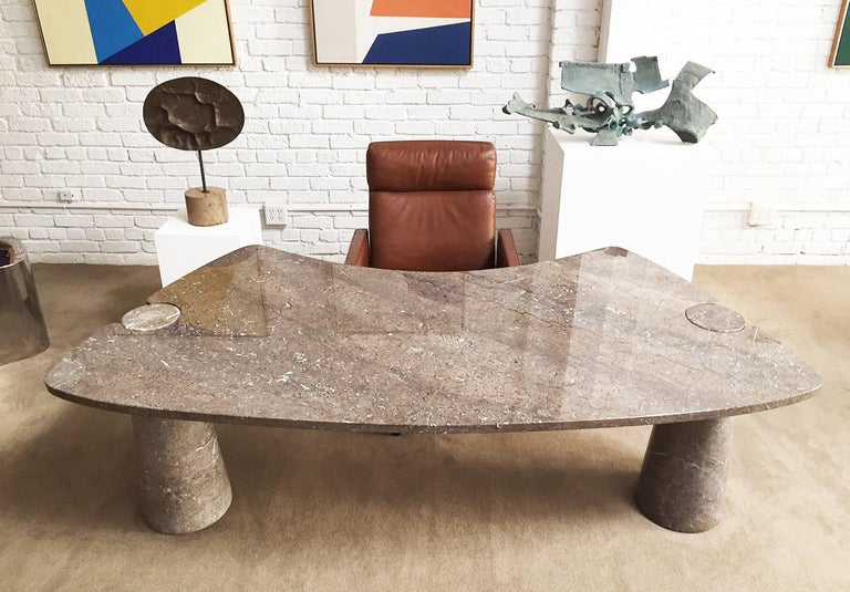 Mid-Century Modern Mangiarotti Marble