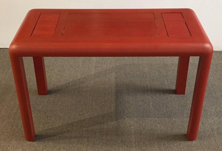 Backgammon Table Reversible Top Lizard Clad 4
