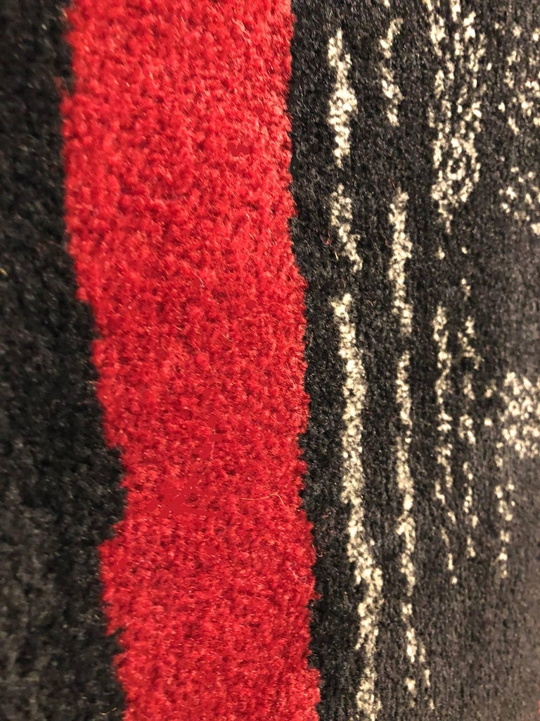 Maurice Andre Signed Wool Carpet 6