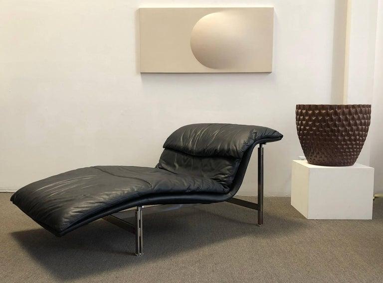 saporiti italia chaise lounge for sale at 1stdibs. Black Bedroom Furniture Sets. Home Design Ideas