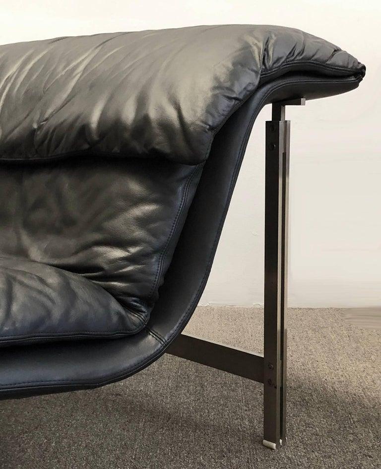 Italian Saporiti Italia Chaise Lounge For Sale