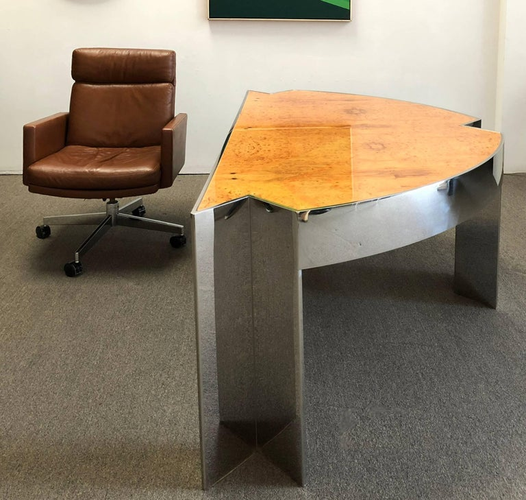 Late 20th Century Desk by Leon Rosen for Pace Collection For Sale