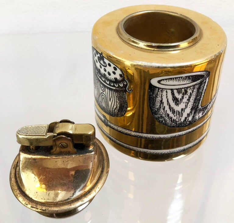 Mid-Century Modern Piero Fornasetti Lighter  For Sale