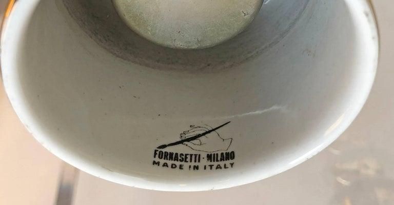 Italian Piero Fornasetti Lighter  For Sale