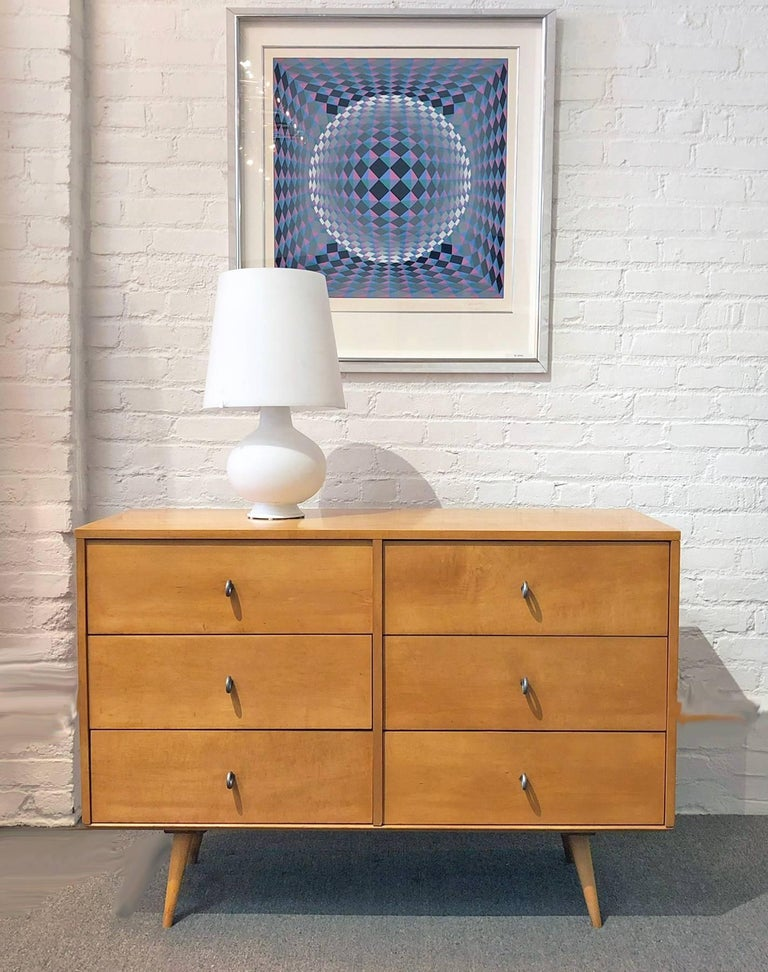 Paul McCobb six drawer dresser.