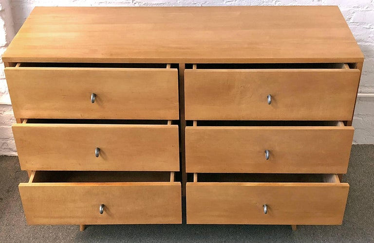American Paul McCobb Six Drawer Dresser Planner Group For Sale