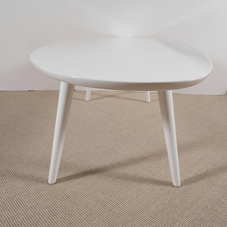 White Lacquer Conant Ball Makers Coffee Tables For Sale At 1stdibs