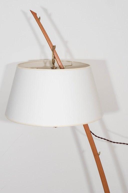 kalmar dornstab wood lamp and bronze base floor lamp at. Black Bedroom Furniture Sets. Home Design Ideas