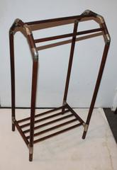 19Thc  Industrial Luggage  Rack From a Train Station