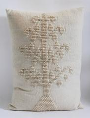 Folky Monumental  Alpaca Lambs Wool Tree of Life Pillow