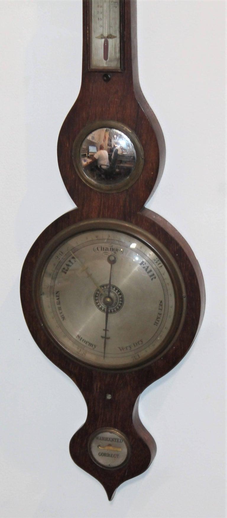 Wheel or Banjo Barometer 2