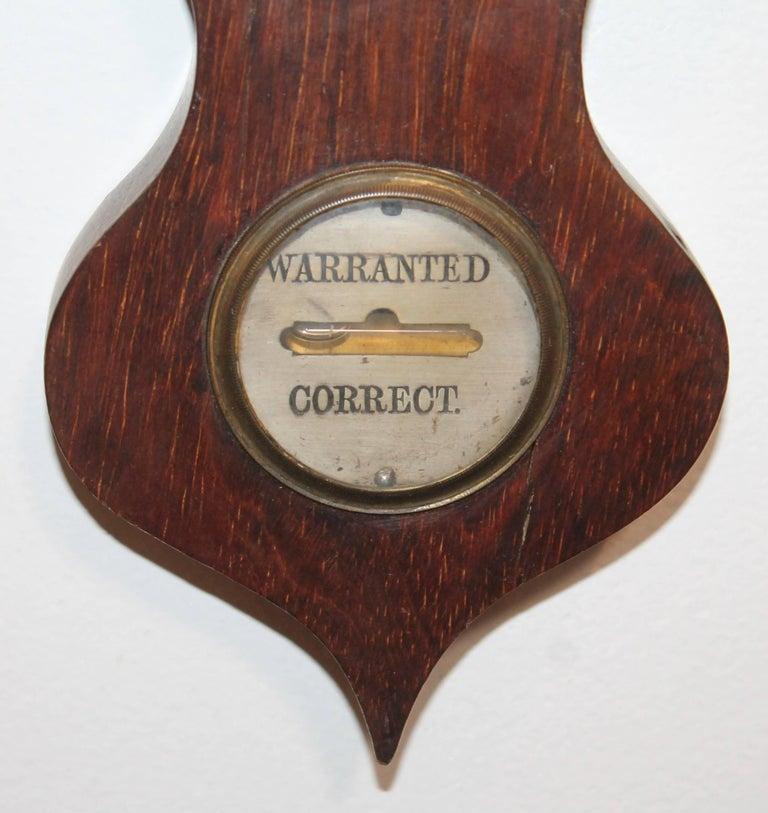 Wheel or Banjo Barometer 3
