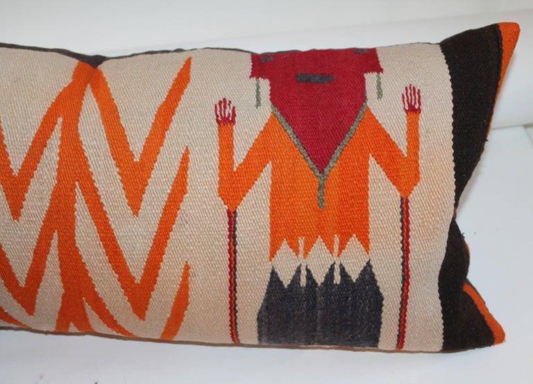 Two Navajo Yea Indian Weaving Pillows At 1stdibs