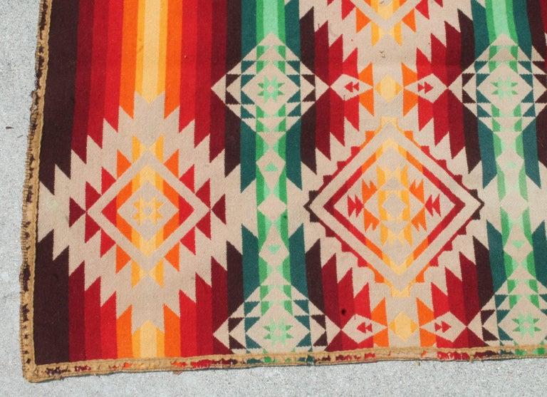 American Pendleton Cayuse Indian Design Blanket For Sale