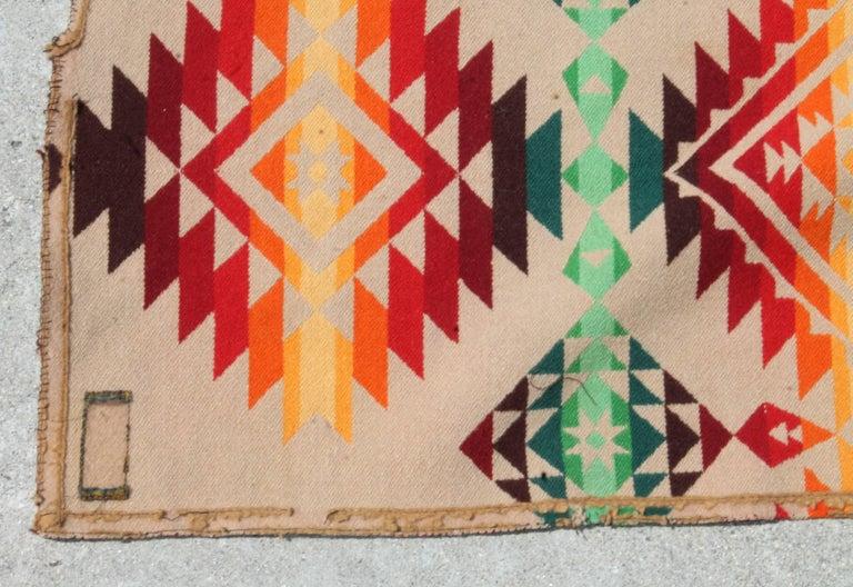 Adirondack Pendleton Cayuse Indian Design Blanket For Sale