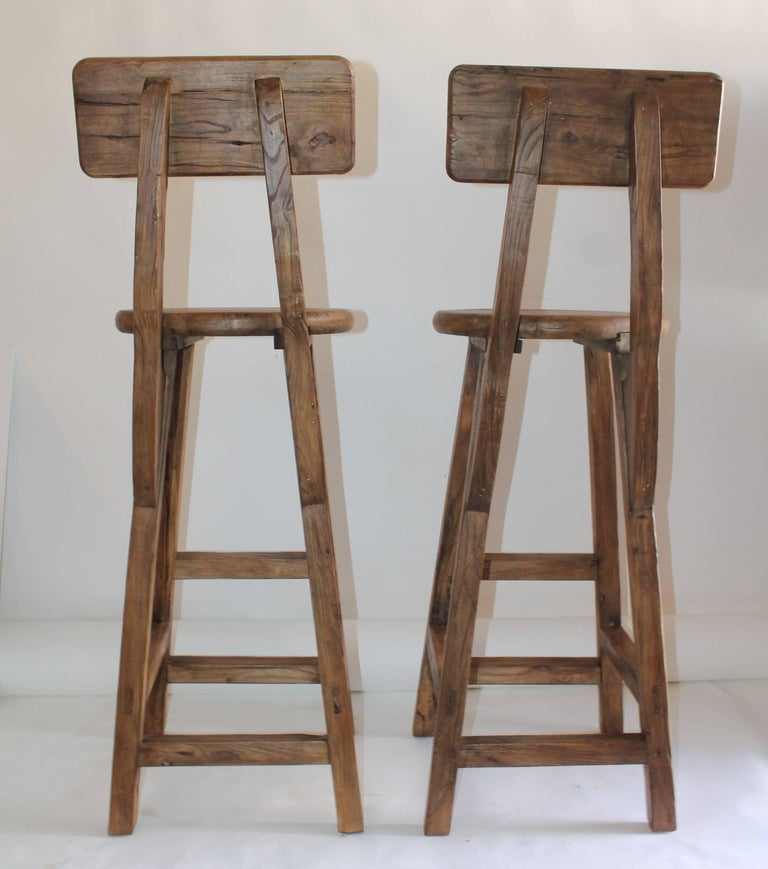 Industrial Tall And Heavy Bar Stools For Sale At 1stdibs