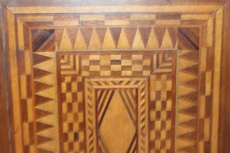 19th Century Folky Inlaid Bible Box 3