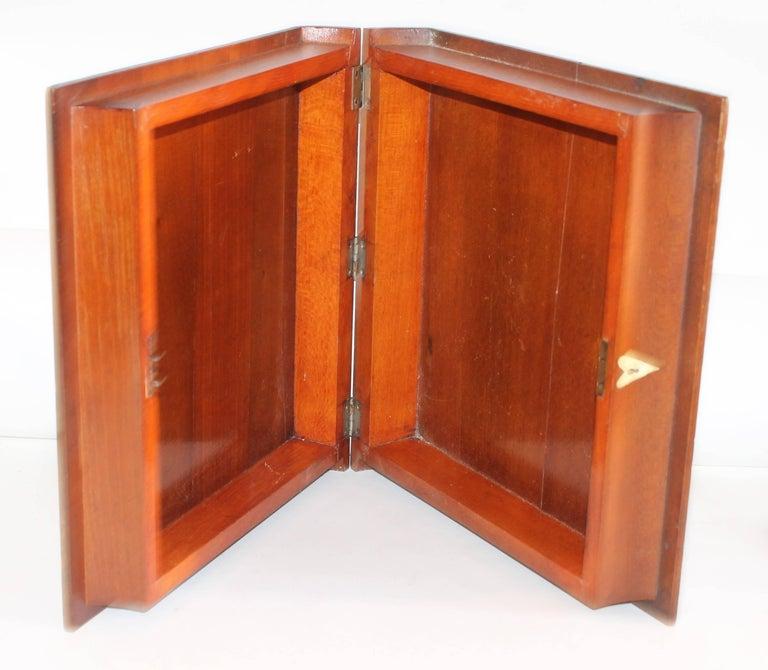 19th Century Folky Inlaid Bible Box 8