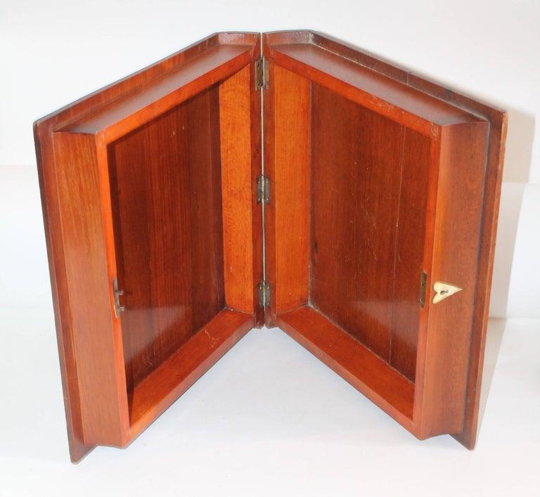 19th Century Folky Inlaid Bible Box 7